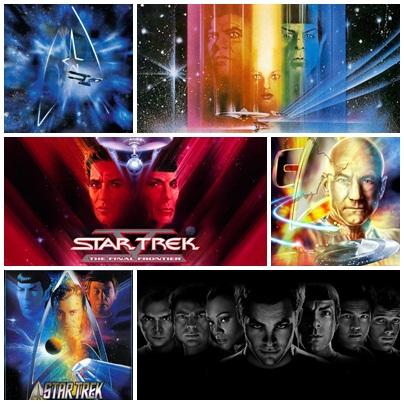 Star Trek..La nueva generación Collage-carteles-star-trek