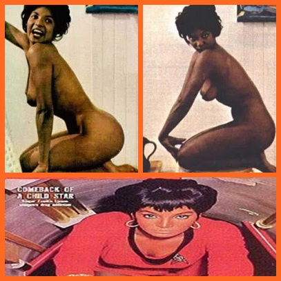 collage nude uhura