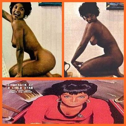 collage nude uhura