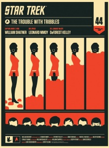 Olly-Moss-Trouble-with-Tribbles-Star-Trek-Posters-On-Sale-Tomorrow