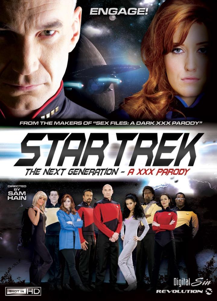 STAR TREK: THE NEXT GENERATION (LA NUEVA GENERACIÓN) PORNO (1/3)