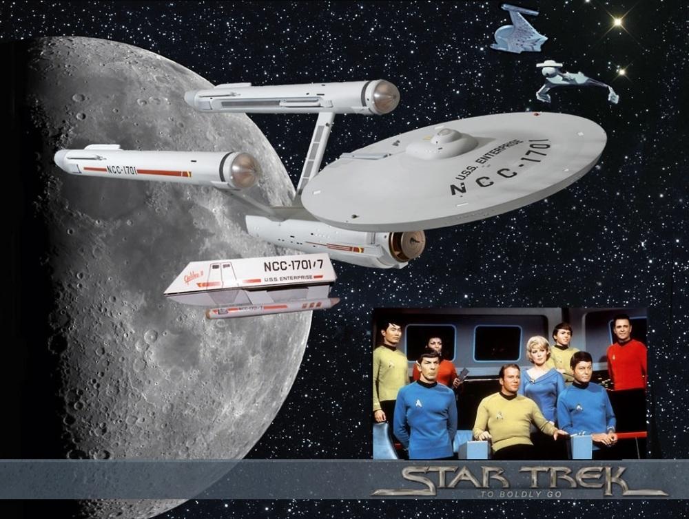 STAR TREK TOS 45th ANNIVERSARY (LA SERIE ORIGINAL 45 ANIVERSARIO) (2/6)