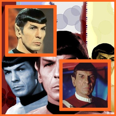Collage Mr. Spock