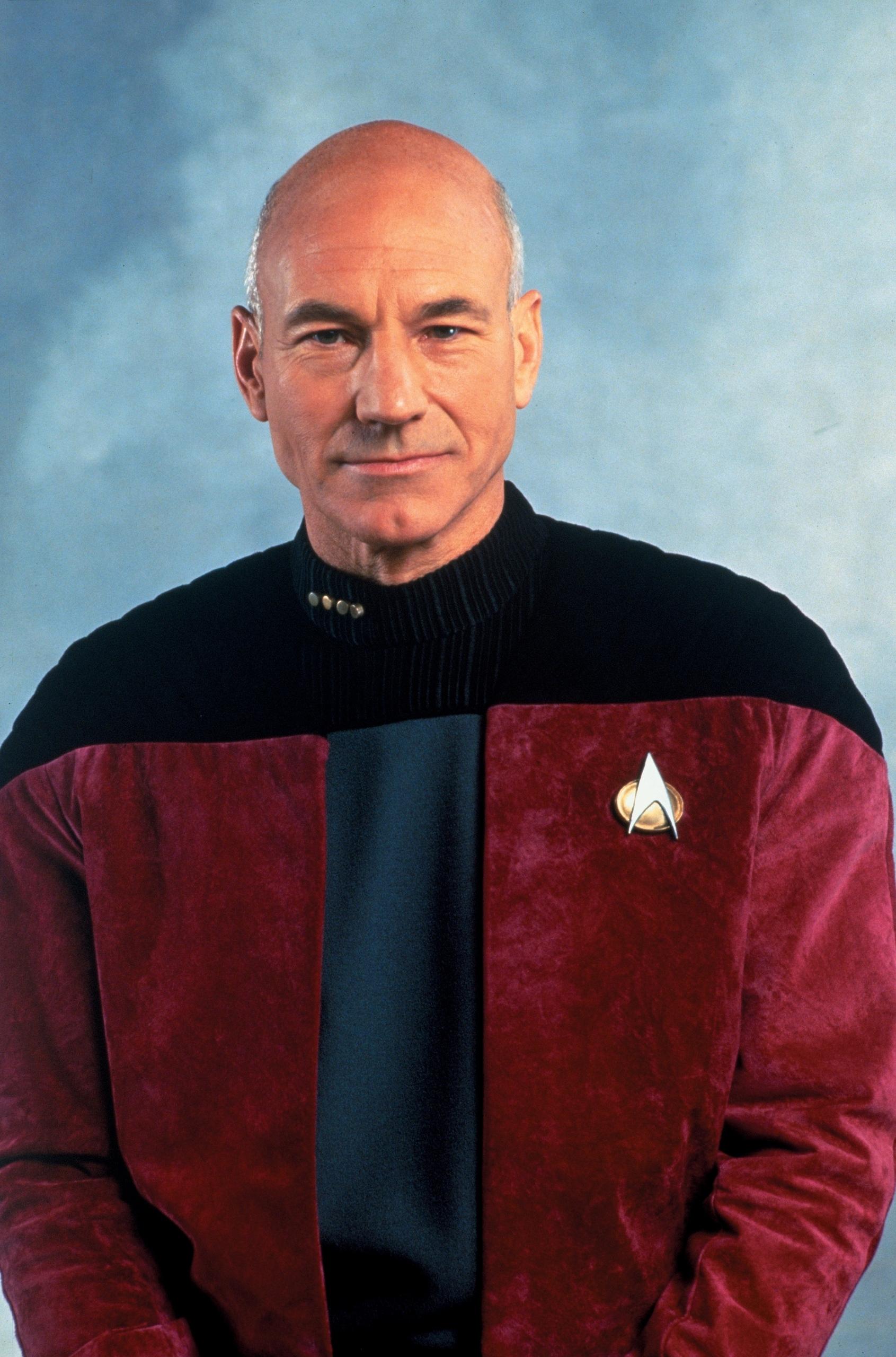 Bonito Star Trek Marco De La Próxima Generación De La Mente Bosquejo ...