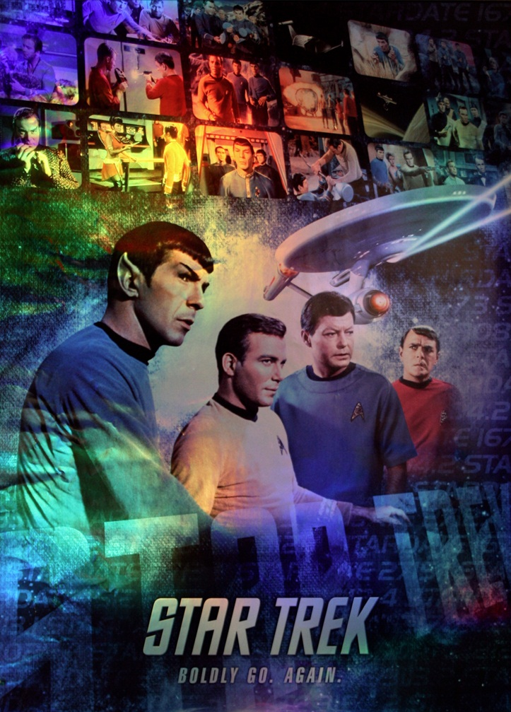 Cartel Star Trek TOS Remasterizada | LAS CRÓNICAS DE STAR TREK (THE ...