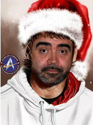 Papa Noel Silver Feliz Navidad