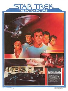 Star Trek the Motion Picture (1979) Magazine Poster