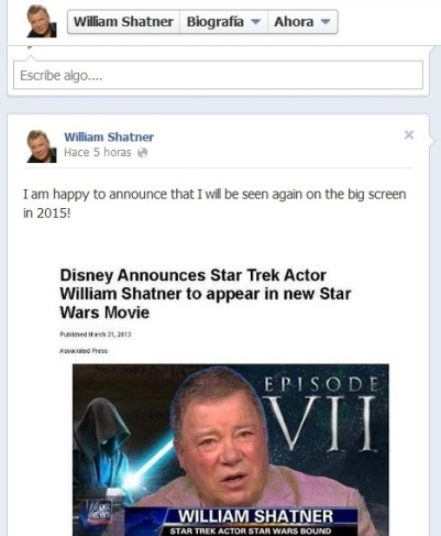 Episodio VII William Shatner
