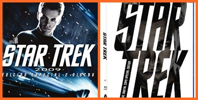dvd star trek 2009