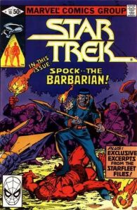 Cover to Star Trek #10 by Frank Miller|Spock .... The Barbarian|Covers|mlmv
