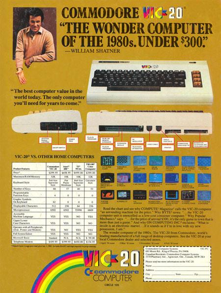 711796trek11 teclado anuncio de shatner